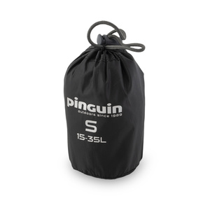Raincoat to backpack Pinguin Raincover S 15-35l black, Pinguin