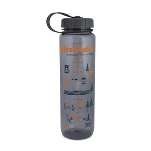 Bottle Pinguin Tritan Slim Bottle Grey 2020 1000 ml, Pinguin