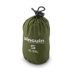 Raincoat to backpack Pinguin Raincover S 15-35l khaki, Pinguin