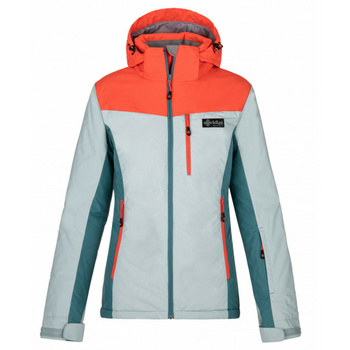 Women ski jacket Kilpi FLIP-W light blue, Kilpi