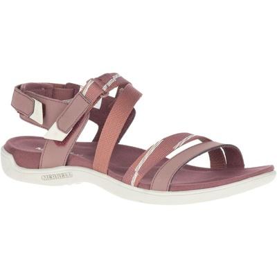 Women's Sandals Merrel l District Mendi Backstrap marron/burlwood, Merrel