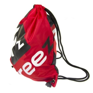 Bag FREEZ VERSO Gymsack BLACK-RED, Freez