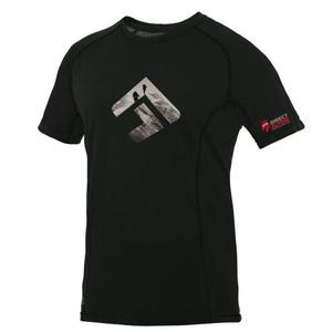 T-Shirt Direct Alpine Furry black (brand 20 years), Direct Alpine