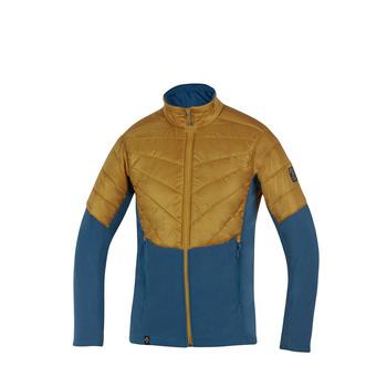 Men's outdoor jacket Direct Alpine Fusion caramel / petrol, Direct Alpine