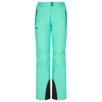 Women's ski trousers Kilpi GABONE-W turquoise, Kilpi