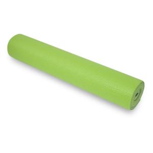 Mat to yoga YATE yoga mat double-layer green / gray, Yate