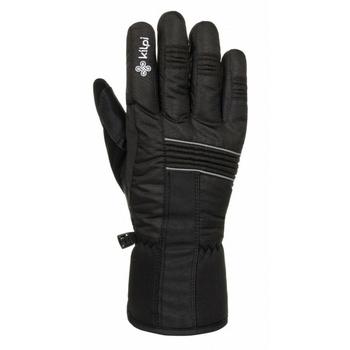 Unisex ski gloves Kilpi GRANT-U Black