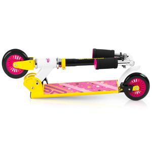 Scooter Spokey DUKE wheels 125 mm, yellow-pink, Spokey
