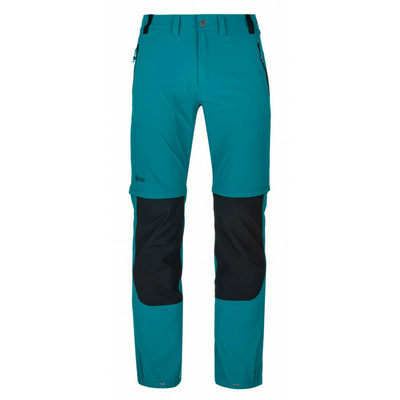 Men's technical outdoor trousers Kilpi HOSIO-M turquoise