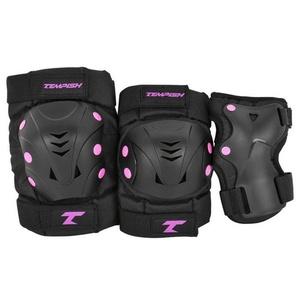 Protectors Tempish Also 3 set pink, Tempish