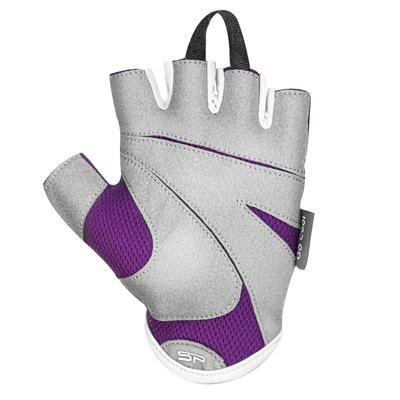 Spokey LADY FIT Ladies fitness gloves, purple, size S, Spokey