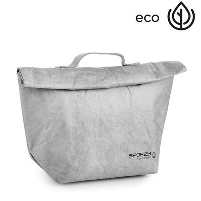 Thermal snack bag with loop Spokey EKO FRIENDLY CARTA grey, Spokey