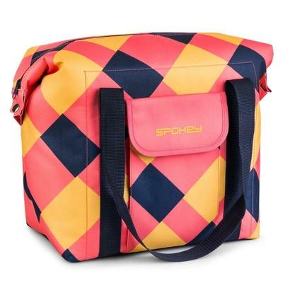 Thermo bag Spokey SAN REMO pink-blue-yellow, Spokey