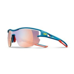 Sun glasses Julbo AERO PRO Zebra Light Fire 974 grand raid blue / red / yellow, Julbo