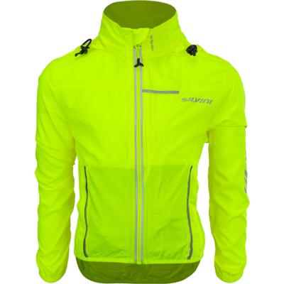 Children cycling jacket Silvini Punta CJ1235 neon, Silvini
