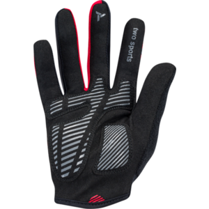 Men gloves Silvini Team MA1413 red-black, Silvini