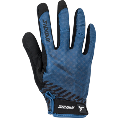 Men gloves Silvini GATTOLA MA1425 navy, Silvini