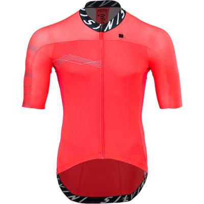 Men bike jersey Silvini Stelvio MD1604 ruby, Silvini