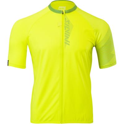 Men bike jersey Silvini Turano for MD1645 lime