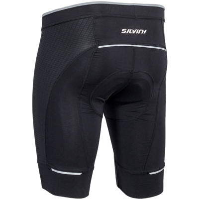 Men cycling pants Fortore MP1003 black, Silvini