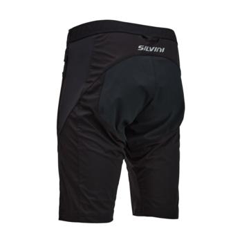 Men's shorts Silvini ORCO MP1107 black-cloud, Silvini
