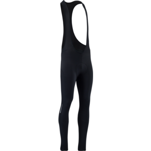 Men winter cycling pants Silvini Rapone Pad MP1737 black, Silvini