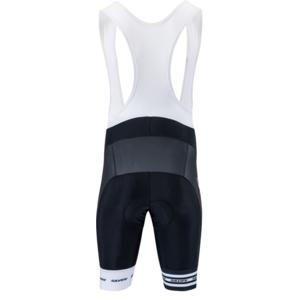 Men cycling pants Silvini Team Top MP839 black-white, Silvini