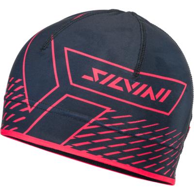 Headwear Silvini Pala UA1521 black / red, Silvini