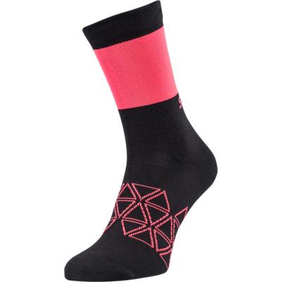 Cycling socks Silvini Bardiga UA1642 black / pink, Silvini