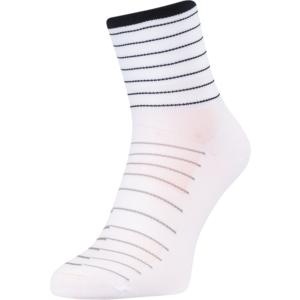 Cycling socks Silvini Bevera UA1659 white-black, Silvini