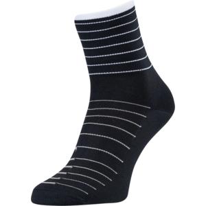 Cycling socks Silvini Bevera UA1659 black-white, Silvini