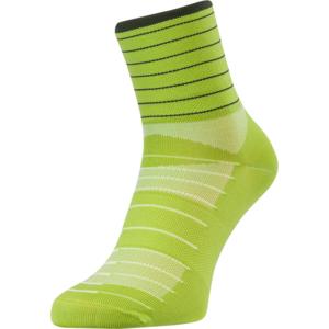 Cycling socks Silvini Bevera UA1659 lime-olive, Silvini
