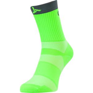 Cycling socks Silvini Orato UA1660 green-charcoal, Silvini