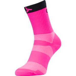 Cycling socks Silvini Orato UA1660 pink-charcoal, Silvini
