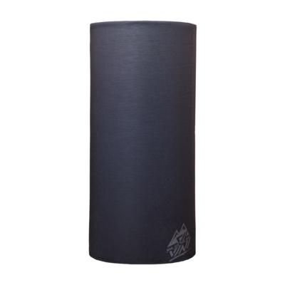 Single-layer multifunctional scarf Silvini Motivo UA1730 black / gray