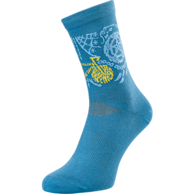 Cycling bulls socks Silvini Avella UA1815 blue, Silvini