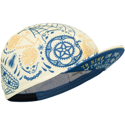 Headwear cycling Silvini Rooms UA1816 yellow / blue, Silvini