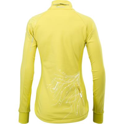 Women softshell jacket Silvini Monna WJ703 yellow, Silvini