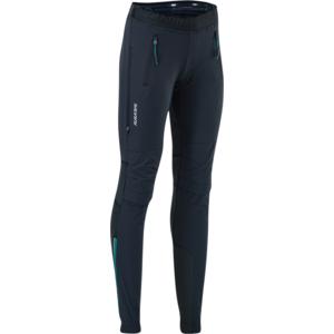 Women skialpové pants Silvini Takracte WP1145 black / blue, Silvini