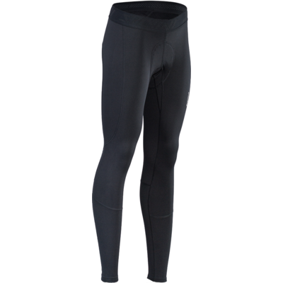 Women's winter cycling pants with cycling liner Silvini Rapone Pad WP1732 black, Silvini