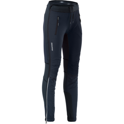 Women skialpové pants Silvini Takracte For WP1744 black-cloud