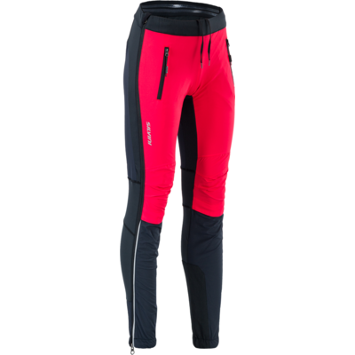 Women skialpové pants Silvini Takracte For WP1744 black-red