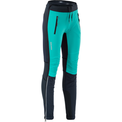 Women skialpové pants Silvini Takracte For WP1744 black-ocean