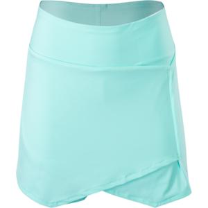 Women skirt Silvini Isorno PRO WS1216 turquoise-charcoal, Silvini