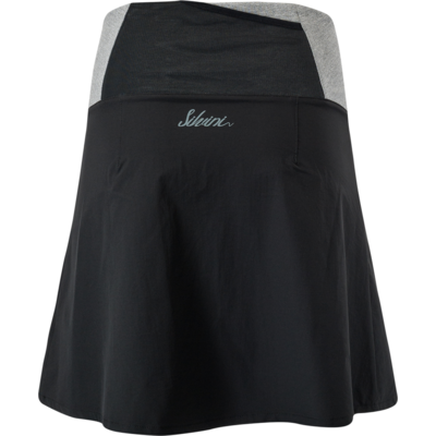 Women cycling skirt Silvini Salso WS1217 black, Silvini