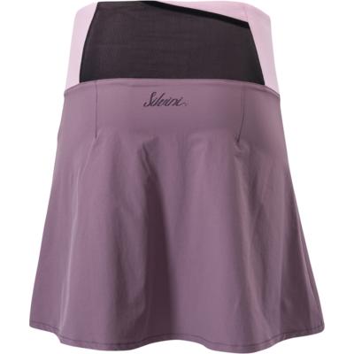 Women cycling skirt Silvini Salso WS1217 plum-purple, Silvini