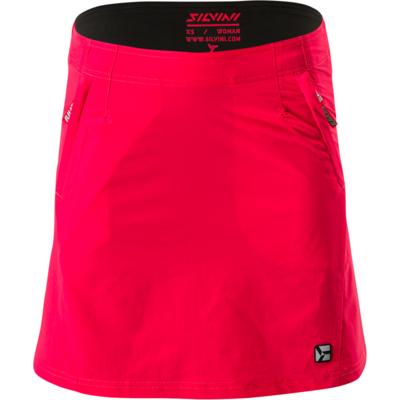Women cycling skirt Silvini Invio WS1624 red, Silvini