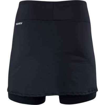 Women cycling skirt Silvini Isorno WS1638 black, Silvini
