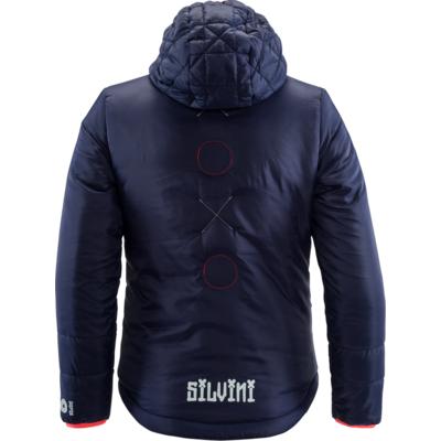 Children jacket Silvini Primaloft Seisa CJ1300 navy, Silvini