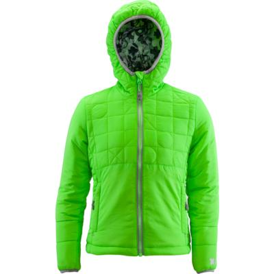 Children jacket Silvini Primaloft Seisa CJ1300 green, Silvini
